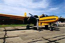 Aerial firefighting Douglas A-26C