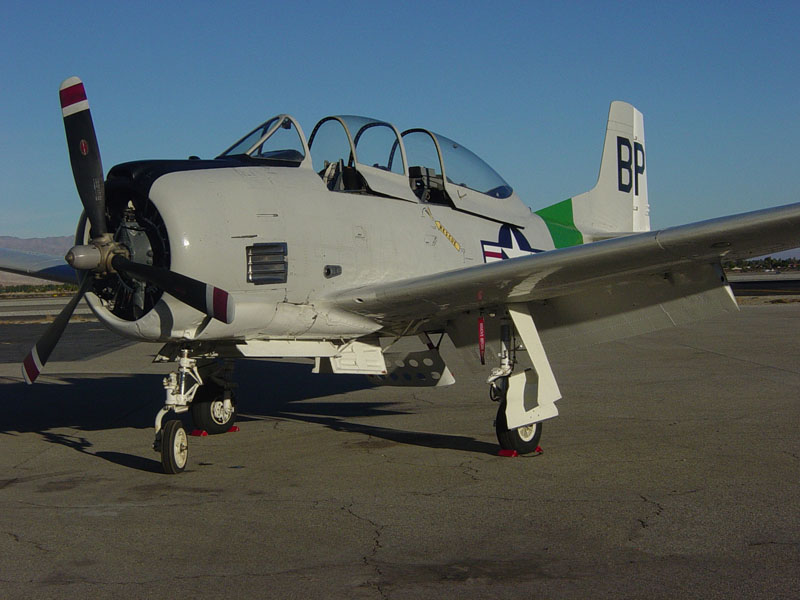 North American T 28b Trojan Classic Military Aircraft For